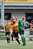 Kent FA Junior A Cup Final. Littlebourne (Yellow & Black) V Greenway Aces (Green)