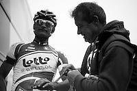 Paris-Roubaix 2012 ..Andre Greipel post-race