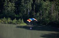 Powered Parachute in Flight, Washington State