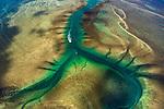 Aerial of Doubtful Bay, Kimberley, Western Australia