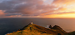 Sunrise at Cape Reinga Lighthouse in the Northland Region of New Zealand.