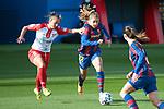 Liga IBERDROLA 2020-2021. Jornada: 10<br /> FC Barcelona vs Santa Teresa: 9-0.<br /> Ariadna Rovirola vs Lieke Martens.