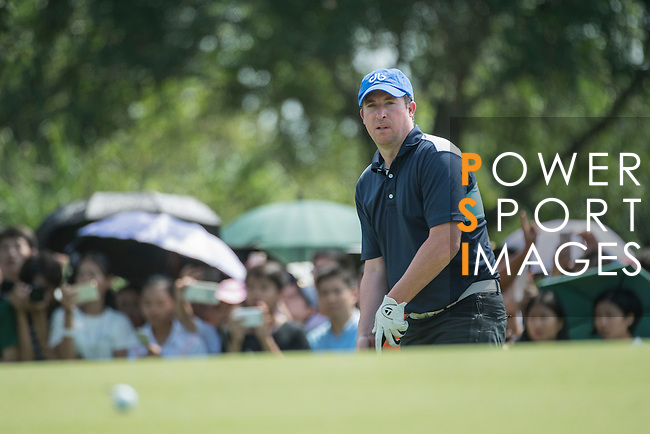 Robbie Fowler during the World Celebrity Pro-Am 2016 Mission Hills China Golf Tournament on 22 October 2016, in Haikou, China. Photo by Weixiang Lim / Power Sport Images