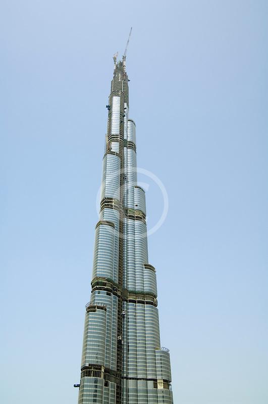 United Arab Emirates, Dubai, Burj Dubai tower, as of May 2008 the tallest man-made structure on Earth