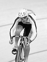 Southland's Fabian Wybrow at the BikeNZ Elite & U19 Track National Championships, Avantidrome, Home of Cycling, Cambridge, New Zealand, Sunday, March 16, 2014. Credit: Dianne Manson