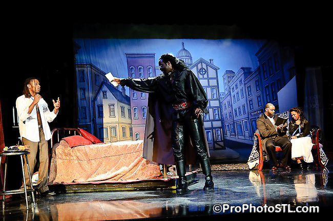 Harris-Stowe State University present Dracula by Steven Dietz, directed by Beverly Brennan at Emerson Performance Center - Bank of America Theatre in St. Louis, MO on Nov 20, 2009.