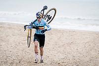 Wout van Aert (BEL/Jumbo-Visma) <br /> <br /> UCI 2021 Cyclocross World Championships - Ostend, Belgium<br /> <br /> Elite Men's Race<br /> <br /> ©kramon