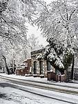 Historic village of Volcano, during a rare winter snow, Amador County, Calif.<br /> .<br /> .<br /> .<br /> .<br /> #VolcanoCalifornia, #Snow, #Winter2019, #VisitAmador
