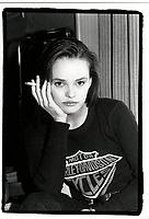 December 1989 - EXCLUSIVE File Photo - Vanessa Paradis