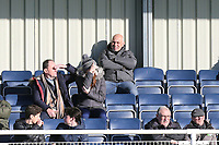 Roumered new Chelsford manager Garry Hill watches from the stands during Aveley vs Chelmsford City, Buildbase FA Trophy Football at Parkside on 8th February 2020