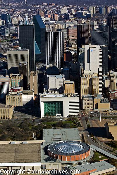 aerial photograph of Dallas, Texas