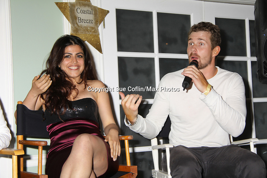 One Life to Live Shenaz Treasury & Josh Kelly at A Night of Stars on May 14 at Bistro Soleil, Olde Marco Inn, Marco Island, Florida - SWFL Soapfest Charity Weekend May 14 & !5, 2011 benefitting several children's charities including the Eimerman Center providing educational & outfeach services for children for autism. see www.autismspeaks.org. (Photo by Sue Coflin/Max Photos)