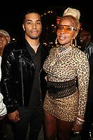 NEW YORK, NY - SEPTEMBER 11; Rome Flynn and Mary J. Blige at Misa Hylton's 48th Birthday Celebration at Soho House in New York City on September 11, 2021. <br /> CAP/MPI/WG<br /> ©WG/MPI/Capital Pictures