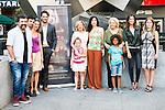 "Full cast of the film during the presentation of the spanish film "" La Puerta Abierta"" in Madrid. August 31, Spain. 2016. (ALTERPHOTOS/BorjaB.Hojas)"