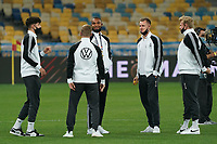 Jonathan Tah (Deutschland Germany), Kai Havertz (Deutschland, Germany), Torwart Bernd Leno (Deutschland Germany), Timo Werner (Deutschland Germany), Julian Brandt (Deutschland Germany), Luca Waldschmidt (Deutschland Germany) - 10.10.2020: Ukraine vs. Deutschland, UEFA Nations League, 3. Spieltag, Olympiastadion Kiew <br /> DISCLAIMER: DFB regulations prohibit any use of photographs as image sequences and/or quasi-video.