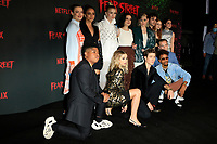 LOS ANGELES - JUN 28:  Cast of Fear Street at Netflix's Fear Street Triology Premiere at the LA STATE HISTORIC PARK on June 28, 2021 in Los Angeles, CA