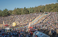 the riders storm into the 'Pit'<br /> <br /> CX Superprestige Zonhoven 2016