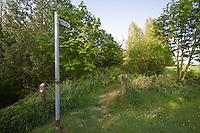 Public footpath - Lincolnshire