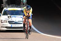9th September 2021; Trento, Trentino–Alto Adige, Italy: 2021 UEC Road European Cycling Championships, Womens Individual time trials:  EKLUND Nathalie (SWE)