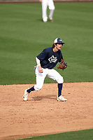 Drew Swift plays in the MLB / USA Baseball Prospect Development Pipeline game at Sloan Park on February 5, 2017 in Mesa, Arizona (Bill Mitchell)