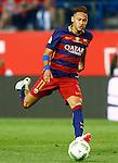 FC Barcelona's Neymar Santos Jr during Spanish Kings Cup Final match. May 22,2016. (ALTERPHOTOS/Acero)