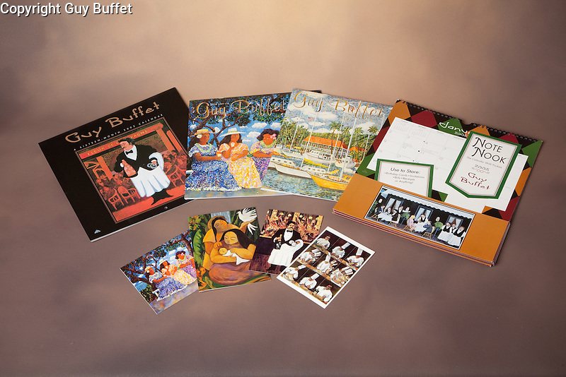 The Guy Buffet Collection c<br /> Variety of calendars and note cards.<br /> <br /> No longer available.