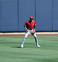 Jordyn Adams - Los Angeles Angels 2021 spring training (Bill Mitchell)