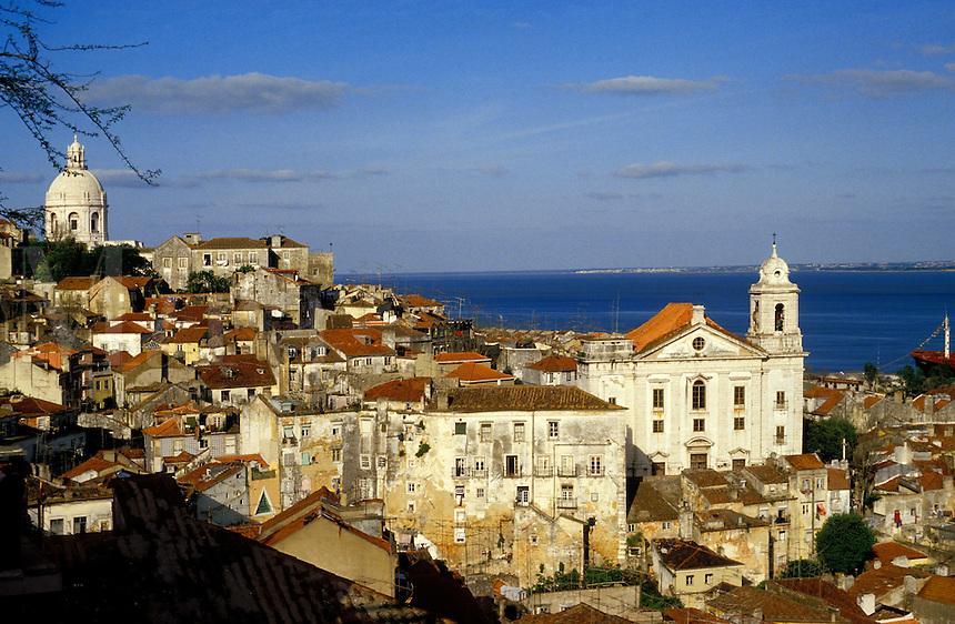 Portugal. Lisbon.  The Alfama.