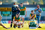 Jason Foley, Kerry, after the Munster Football Championship game between Kerry and Clare at Fitzgerald Stadium, Killarney on Saturday.