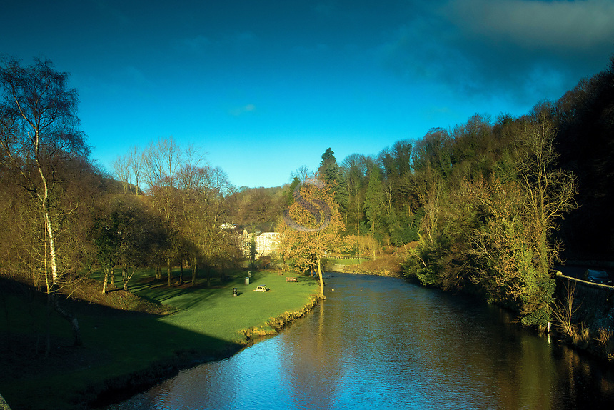 The Allan Water, Bridge of Allan, Stirlingshire