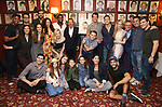 """Rob Ashford with the cast and crew og """"Frozen"""" during the Rob Ashford portrait unveiling for the Sardi's Wall of Fame on October 10, 2018 at Sardi's Restaurant in New York City."""