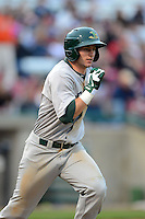 Beloit Snappers shortstop Daniel Robertson #18 during a game against the Kane County Cougars on May 26, 2013 at Fifth Third Bank Ballpark in Geneva, Illinois.  Beloit defeated Kane County 6-5.  (Mike Janes/Four Seam Images)