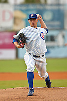 James Leverton of the Daytona Cubs during the game in Daytona, Florida. The Daytona Cubs are theHigh Class A affiliate of the Chicago Cubs. Photo By Scott Jontes/Four Seam Images
