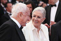 JAMES IVORY AND VANESSA REDGRAVE - RED CARPET OF THE FILM 'MONEY MONSTER' AT THE 69TH FESTIVAL OF CANNES 2016