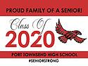 2020 Graduation Signs