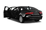 Car images close up view of a 2019 Jaguar XE R-Sport 4 Door Sedan doors