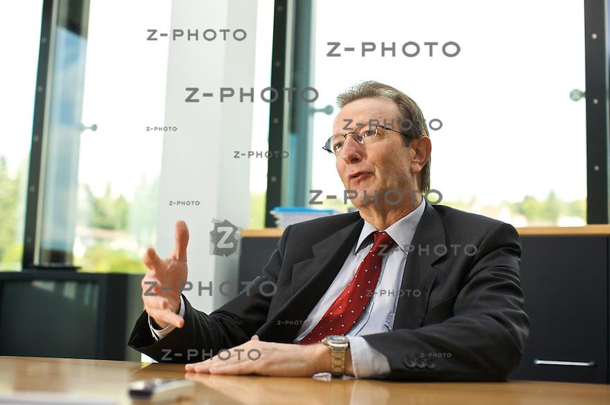 Interview mit Walter Knabenhans, VR-Praesident der Bellevue Asset Management im Hauptsitz in Kuesnacht ZH am 19. September 2008<br /> <br /> Copyright © Zvonimir Pisonic
