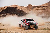 7th January 2021; Riyadh to Buraydah, Saudi Arabia; Dakar Rally, stage 5;  334 Porem Ricardo (prt), Monteiro Jorge (prt), Borgward, Borgward Rally Team, Auto, action during the 5th stage of the Dakar 2021 between Riyadh and Buraydah, in Saudi Arabia on January 7, 2021