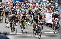 COLOMBIA. 17-08-2014. Jairo Salas ciclista ganador del Circuito en Medellín 97.2 Km en la última etapa de la Vuelta a Colombia 2014 en bicicleta que se cumple entre el 6 y el 17 de agosto de 2014. / Jairo Salas cyclist winner  of the circuit in Medellin 97.2 Km in the last stage of the Tour of Colombia 2014 in bike holds between 6 and 17 of August 2014. Photo:  VizzorImage/ José Miguel Palencia / Str