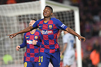 Ansu Fati, Messi<br /> Barcelona 02-02-2020 Camp Nou <br /> Football 2019/2020 La Liga <br /> Barcelona Vs Levante <br /> Photo Paco Larco / Panoramic / Insidefoto <br /> ITALY ONLY