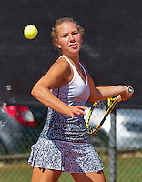 Netherlands, Rotterdam August 05, 2015, Tennis,  National Junior Championships, NJK, TV Victoria, Donnaroza Gouvernante<br /> Photo: Tennisimages/Henk Koster