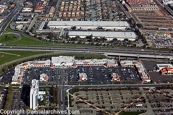 aerial photograph Milpitas, Santa Clara county, California