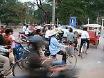 Traffic, Siem Reap, Cambodia