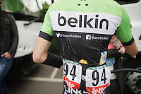 salt on the jerseys after a hard day on the bike<br /> <br /> Liège-Bastogne-Liège 2014
