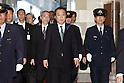 Japanese political Kingpin Ichiro Ozawa Attends the House of Councilors on Thursday
