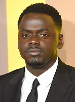 """Daniel Kaluuya<br /> arriving for the """"Black Panther"""" premiere at the Hammersmith Apollo, London<br /> <br /> <br /> ©Ash Knotek  D3376  08/02/2018"""