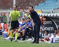 12th September 2021; G.Ferraris Stadium, Genoa, Italy; Serie A football, Sampdoria versus Inter Milan; Roberto D'Aversa coach of Sampdoria