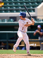 Episcopal School of Jacksonville Eagles Dillon Haines (9) during the 42nd Annual FACA All-Star Baseball Classic on June 6, 2021 at Joker Marchant Stadium in Lakeland, Florida.  (Mike Janes/Four Seam Images)