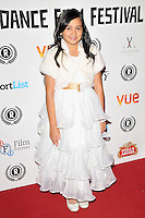 """Alexandra Newick attends the """"My Hero"""" Raindance Film Festival UK film premiere, Vue Piccadilly cinema, Lower Regent Street, London, England, UK, on Friday 25 September 2015. <br /> CAP/CAN<br /> ©Can Nguyen/Capital Pictures"""
