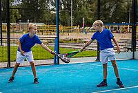Netherlands, September 6,  2020, Amsterdam, Padel Dam, NK Padel, National  Junior Padel Championships, <br /> Photo: Henk Koster/tennisimages.com